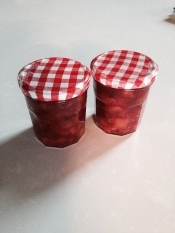 Nectarine and Pluot Jam