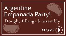 Argentine Empanada Party!